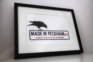 Made in Peckham Framed Print