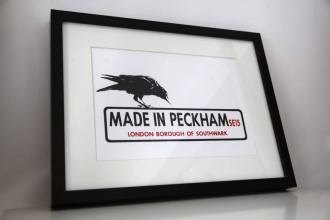 Made in Peckham Framed Print