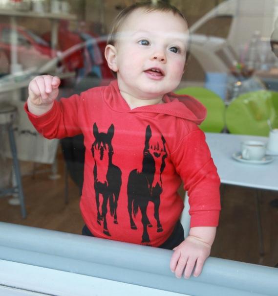 Hoodie £15, newborn to toddler sizes