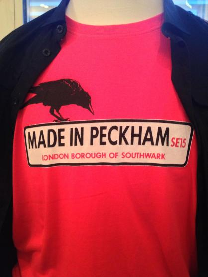 Made in Peckham Men's T-Shirts in stock. Babygros, Youth and Women's available to pre-order now.