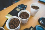 Blind tasting of various espresso beans to determine which we willserve
