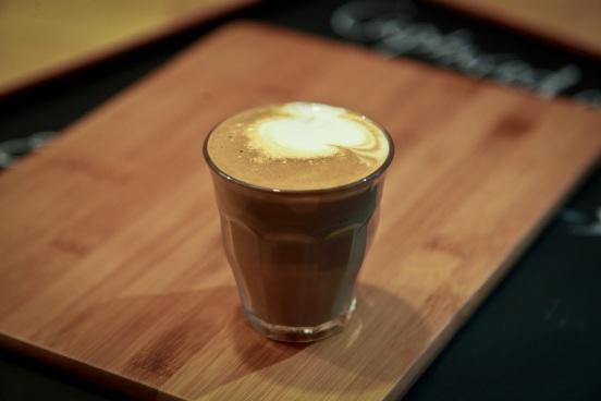 Cortado - our signature coffee!