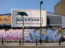 Made in Peckham Billboard