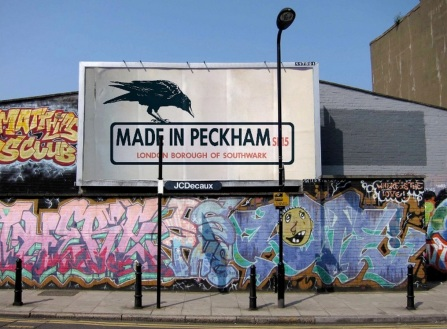 Made in Peckham Billboard