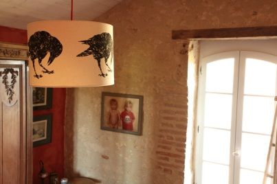 Corvus Quercus in French country house