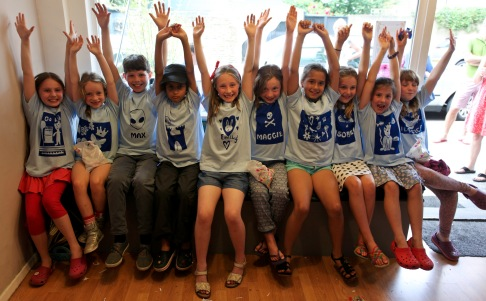 Hands in the air if you love your new t-shirts!