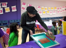 Screenprinting Birthday Party
